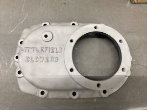 Littlefield Magnesium Front Cover Blower Supercharger 671 871 1471 Mag Vintage