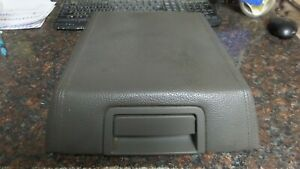 2007 2014 Ford Expedition Center Console Armrest Arm Rest Lid Top Gray Leather