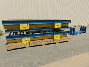 30 Of Super Heavy Duty Chain Driven Powered Roller Conveyor