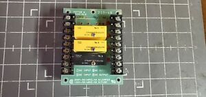 Potter Brumfield Solid State Relay Board 2i0 4b