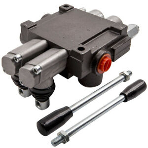 Adjustable Hydraulic Directional Control Valve Max Flow 13 Gpm 2 Spool New