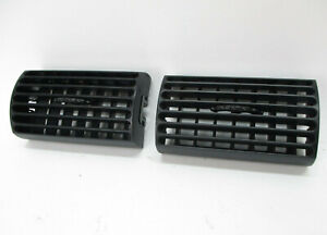 Ford Mustang Center Dash Register Air Ac A c Heater Vents Black Set 2 94 04