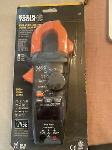 Klein Tools 400a Ac dc Auto ranging Digital Clamp Meter Cl390 New
