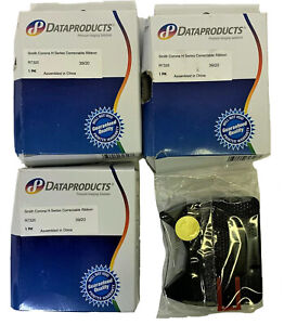 Lot Of 4 Data Products R7320 Correctable Ribbon For Smith Corona H Series Black