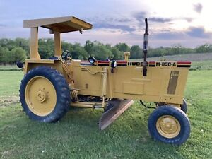 Huber M850a Maintainer Road Grader Tractor