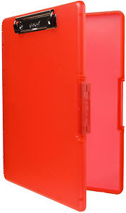 Dexas 3517 j101 Slimcase 2 Storage Clipboard With Side Opening Strawberry