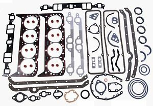 Chevy Fits 350 5 7 69 85 Truck Gasket Set Full