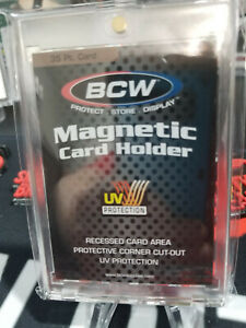 Bcw 35pt Magnetic One Touch For Trading Cards Uv Protection