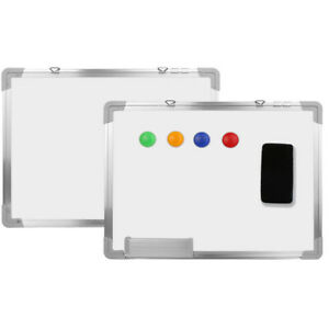 24 X 18 Magnetic Whiteboard Dry Erase Home Office Wall Hanging Writing Board