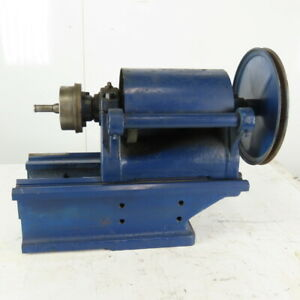 Belt Driven Lathe Chuck Spindle Headstock Assembly 9 3 8 Bed Width
