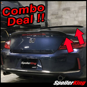 Fits Honda Accord 2013 18 2dr Coupe Rear Roof Spoiler Trunk Wing 284r 284gc
