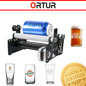 30w Industry Automatic Laser Master Engraver Rotary Machine Beverage Can Glass