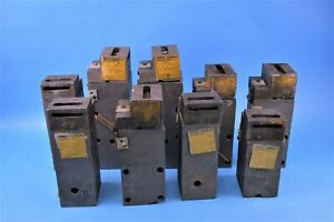Lot Of 9 Used Erico Cadweld Weld Mold Assemby s