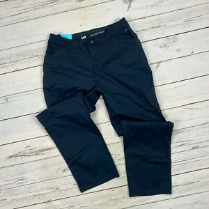 Lee All Day Pants Size 10 Short Womens Relaxed Fit Chinos Imperial Blue Straight $28.80