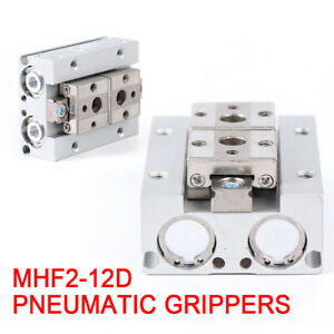 Pneumatic Gripper Mhf2 12d 12mm Table Gripper Double Acting Stroke Bore 12d