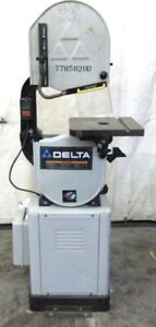 Delta Machinery Metal Wood Band Saw 28 306 93 5 Blade 14 X 14 Table