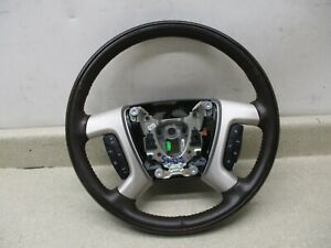 2007 2008 Avalanche Escalade Ext Esv Heated Steering Wheel Cruise Control Oem