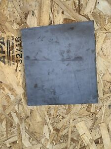 316 316l Stainless Steel Sheet 1 4 250 Thick X 10 875 Wide X 12 Length