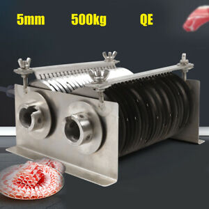 Commercial Electric Meat Slicer Machine 5mm Blade For Qe Cutting Machine Cutter