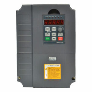 Used 7 5kw 220v 10hp 34a Vfd Variable Frequency Drive Inverter Ce Quality