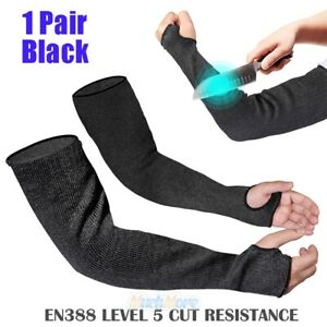 18 Cut resistant Safety Sleeve Meet Level 5 Arm Protection Bite Proof Arm Guard