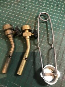 Brenzomatic Lot Of 2 Torches And Striker