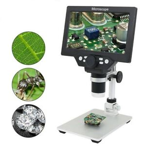 Lcd Screen Digital Microscope Portable 1 1200x Continuous Zoom F Pcb Inspection