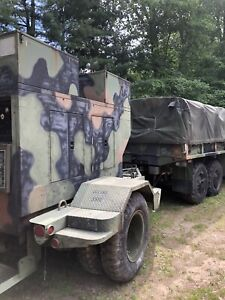 Military Generator 15 Kw Mep 004aas With Duel Tamdom Trailer