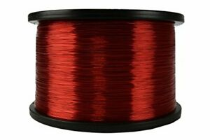 Temco 26 Awg Copper Magnet Wire 5 Lb 6290 Ft 155 c Magnetic Coil Red