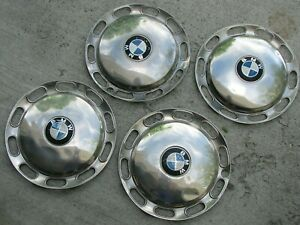 Bmw 1600 And 2002 Hubcap Set Of 4