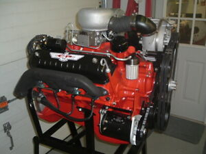 1957 Ford 312 Y Block Phase 1 Supercharged Nascar Engine Restored Vr 57 89r Xe