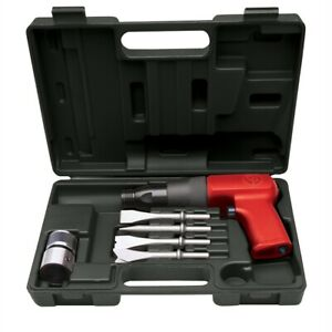 Chicago Pneumatic Low Vibration Air Hammer Kit With Chisels 7110k
