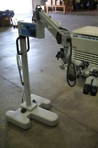 Carl Zeiss S21 Microscope With Opmi Head With 2 F170 Eye Pieces