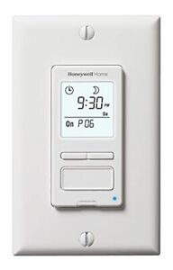 Honeywell Rpls540a Econoswitch Programmable Timer Switch White Requires 40 W