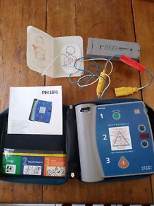 Philips Heartstart Aed Trainer 2 With Pediatric Pads Case