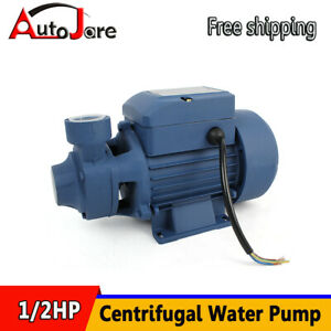 1 2hp 60hz Electric Industrial Centrifugal Water Pump Fit Pool Pond Garden Farm