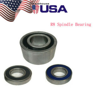 Bridgeport Milling Machine Parts R8 Spindle Bearings Assembly 7207db Bearing