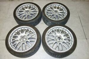 Jdm Bbs Rims Wheels 18x7 5 5x100 Made In Germany Bbs Cs5 Mags Tires