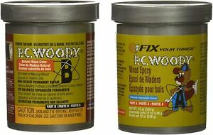 Woody Epoxy Paste Two Part Protective Coatings For Wood 16333 12 Oz
