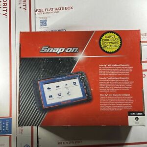 Snap On Triton D8 Diagnostic Scanner W Euro Eems343eur New 21 2 Software
