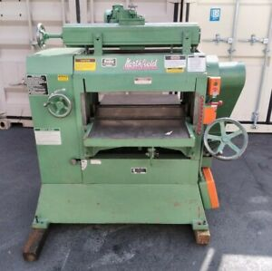 Northfield No 7 24 Planer W grinding Attachment Helical Head
