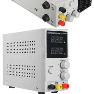 Variable Adjustable Lab Dc Bench Power Supply 30v 0 10a Lw k3010d High Precision