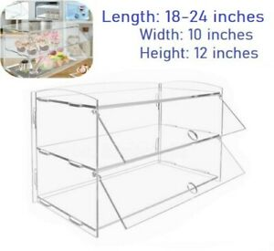 Buildable Acrylic Display Case Perfect For Farmers Markets