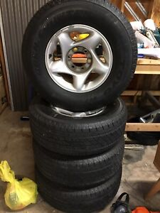 2004 Toyota Tundra Oem Wheels With Tires Set Of 4