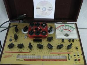 Hickok 6000 Mutual Conductance Tube Tester Calibrated Specs Near Perfect