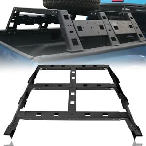 Trunk Bed Cross Cargo Rack Bar Assembly Spare Tire Hloder For Tacoma 2005 2021