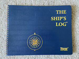 The Ship s Log Note Book By Weems Plath Spiral Bound