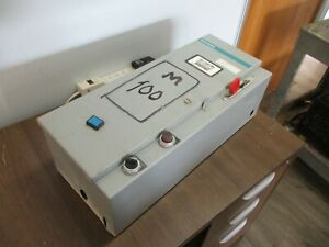 Siemens Fusible Combination 3tb44 120v Coil Trip 2 5 4a Used