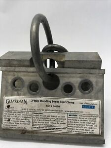 Guardian 2 way Standing Seam Roof Clamp Part 10600 Fall Protect