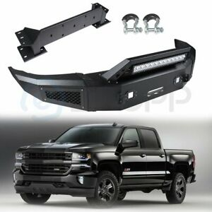 Front Steel Step Bumper Assembly For Chevrolet Silverado 2500 2015 2017